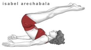 Pila Teleña. enciclopedia de ejercicios de Pilates. Pila Teleña