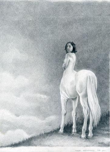 Resultado de imagen de ilustraciones centauras